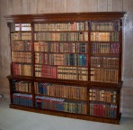 Antique Large Open Bookcase