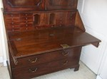 George III Chippendale Bureau Bookcase