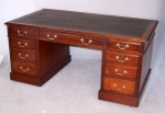 Antique Pedestal Desk image 2