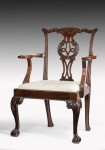 A Superb Example of Chippendale Armchair image 1