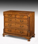 Antique Oak Chest of Drawers image 1
