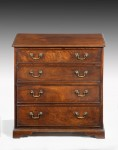 Small George III Chest of Drawers image 1