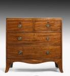 Bow Front Chest of Drawers image 1