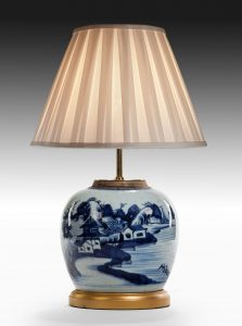 Chinese Ginger Jar, now a Lamp
