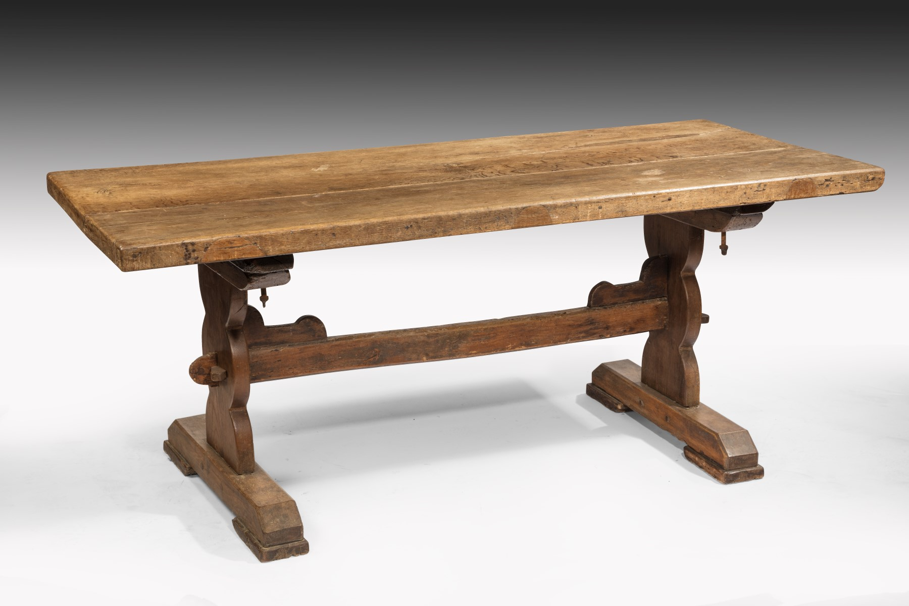 ... 17th Century Oak Refectory Table Image 2