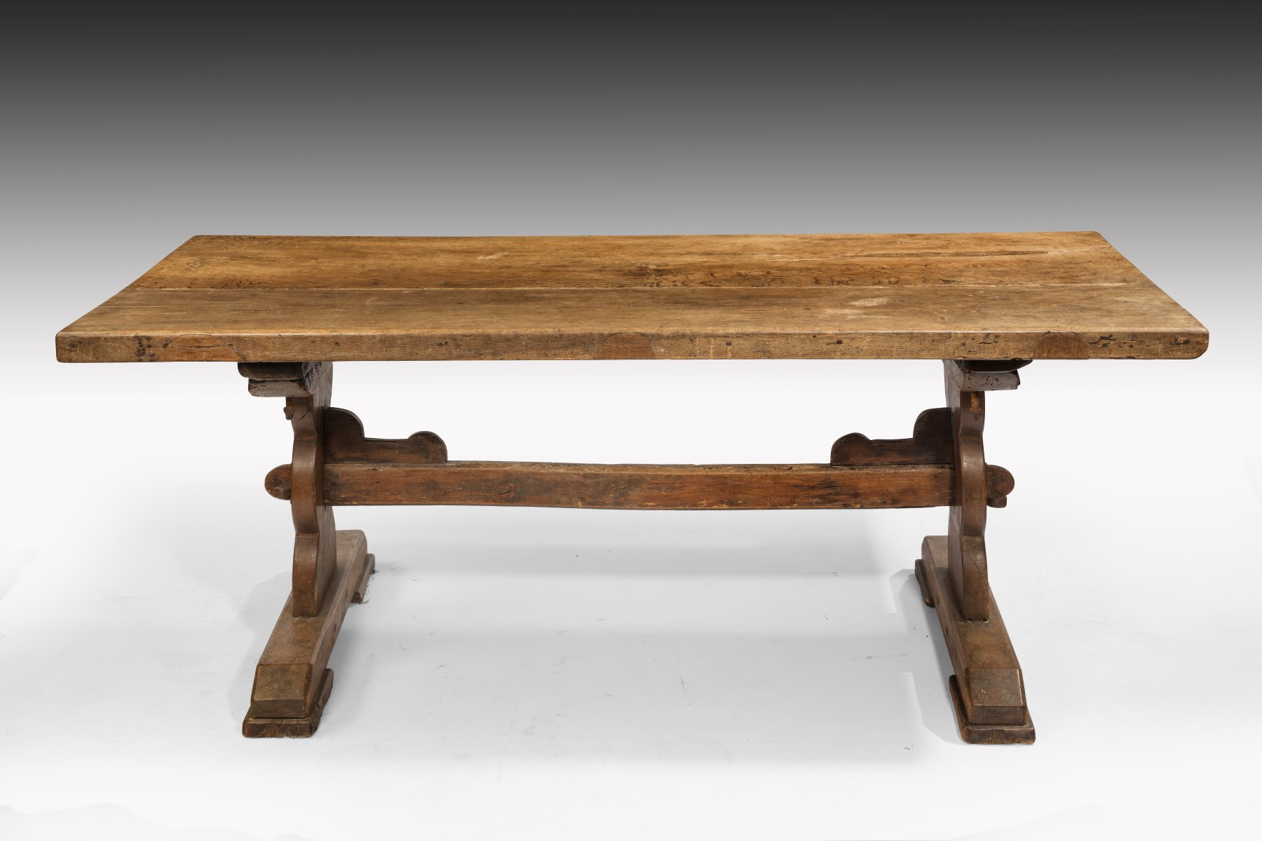 Elegant 6866 Small Refectory Table