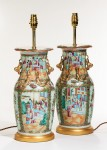 Pair Chinese Vases now Lamps image 2