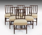 Antique Set of Six Dining Chairs