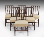 Antique Set of Six Dining Chairs image 1