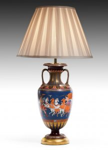 An Etruscan Vase now a Lamp