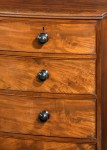 Regency Bow Fronted Chest image 3