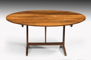 Oval French Dining Table