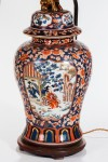 Large Imari Table Lamp image 1