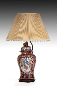 Large Imari Table Lamp