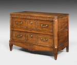 Antique Walnut Commode Chest image 1