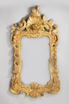 Antique Large Gilt Mirror image 1