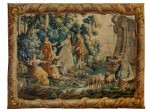 A Louis XV Pastoral Tapestry image 1