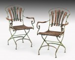 Set of Bistro Garden Chairs