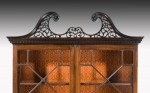 George III Chippendale Design Bureau Bookcase