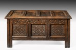 Antique Oak Coffer