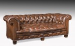 Leather Chesterfield Sofa Settee