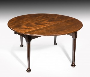 Antique George II Drop Flap Dining Table