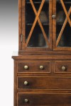 Antique Miniature Chest with Bookcase Top image 3